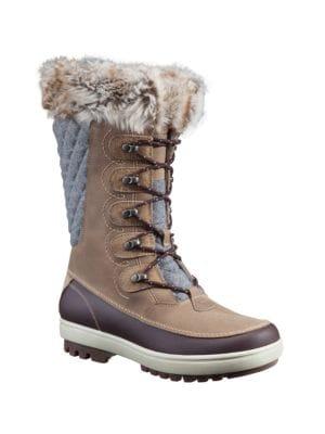 Garibaldi Faux Fur Winter Boots by Helly Hansen