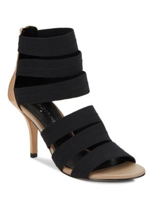 Gigee Mesh Elastic Strapped Booties by Donald J Pliner