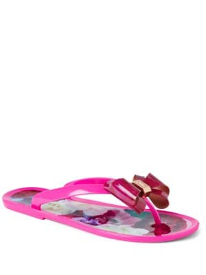Rueday Bow Flip Flops by Ted Baker London