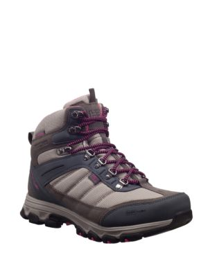 Round-Toe Lace-Up Hiking Boots by Helly Hansen