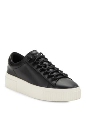 Reese Leather Lace-Up Platform Sneakers by KENDALL + KYLIE