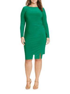 Ruched Jersey Dress by Lauren Ralph Lauren