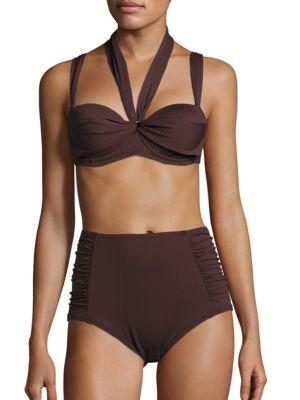 Sola Wrap Bikini Top by COCO REEF WHITE