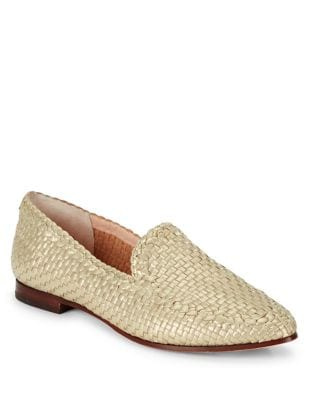 Caylee Leather Woven Loafers by Kate Spade New York