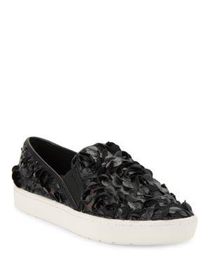 Carmen Slip-On Faux Leather Sneakers by IMNYC Isaac Mizrahi
