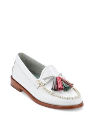 Willow Patent Leather Tassel Loafers by G.H. Bass