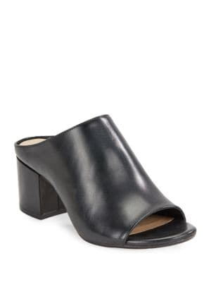 Hope Open-Toe Mules by 424 Fifth