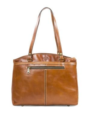 Poppy Leather Tote 500049713647