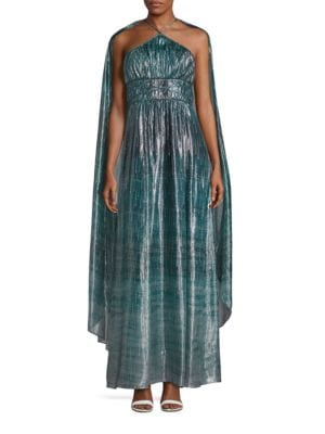Deven Metallic Silk Gown by Rachel Zoe