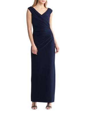 Jersey Surplice Gown by Lauren Ralph Lauren