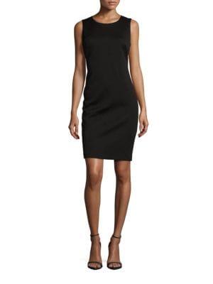 Knit Sheath Dress by Calvin Klein