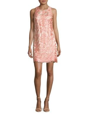 Sleeveless Lace Shift Dress by Eliza J
