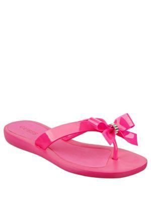 Tutu Flip Flops by Guess