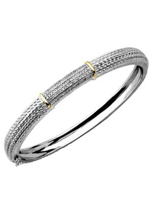 Diamond Accented Bangle...