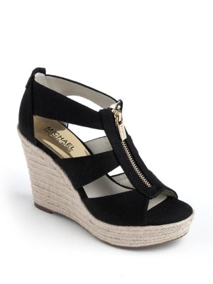 Damita Canvas Espadrille Wedges by MICHAEL MICHAEL KORS