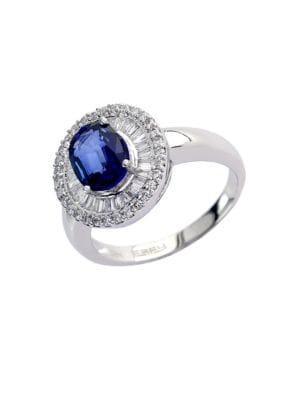 Velvet Bleu 14Kt. White...