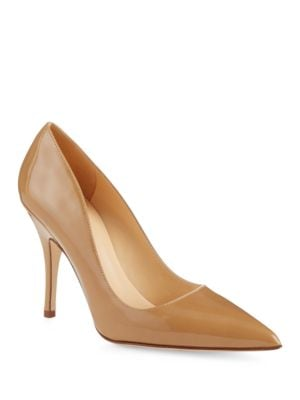 Licorice Patent Pumps by Kate Spade New York