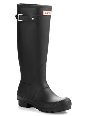 Original Tall Matte Rain Boots by Hunter