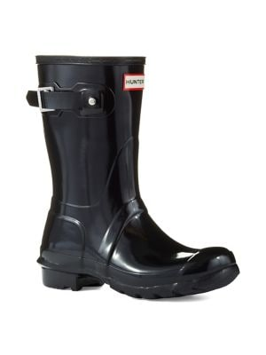 Original Short Gloss Rain Boot by Hunter