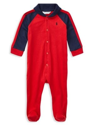 Baby Boy's Rugby Coverall...