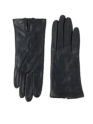 4e5b526fc Lord & Taylor - Silk-Lined Leather Gloves - lordandtaylor.com