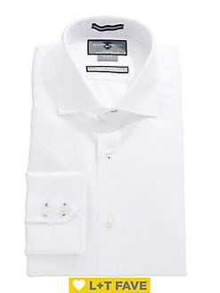 b4c33f41f Slim Fit Non-Iron Dress Shirt WHITE. QUICK VIEW. Product image