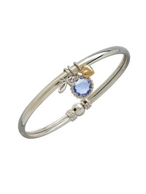 14K Yellow Gold Sterling...