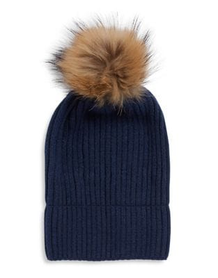 2483bb632e341 Linda Richards - Classic Ribbed Beanie with Coyote