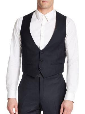 Two-Pocket Wool Vest...