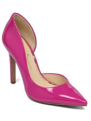 Claudette Stiletto D'Orsay Pumps by Jessica Simpson