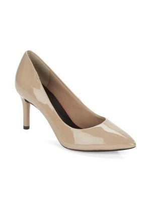 Total Motion Patent Leather Pumps by Rockport