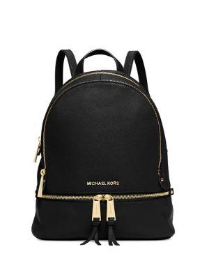 Rhea Small Leather Backpack 500079899951