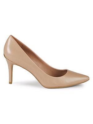5d572b4d64 Calvin Klein - Gayle Leather Pumps - lordandtaylor.com