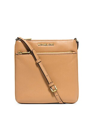 4d1d3827b12c MICHAEL Michael Kors - Bedford Small Flat Leather Crossbody Bag ...