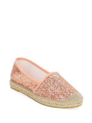 Lux Glitter Espadrilles Slip-On Flats by Vidorreta