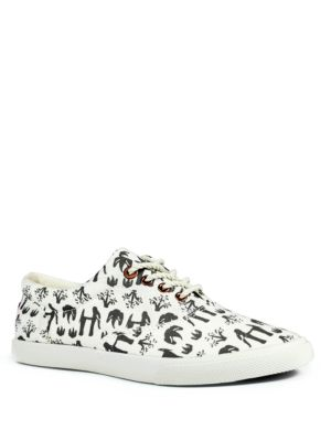 Nature Canvas Lace-Up Sneakers by bucketfeet