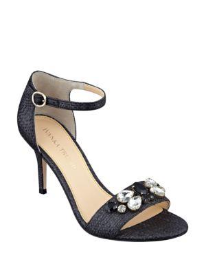 Gessa Embellished Open-Toe Sandals by Ivanka Trump
