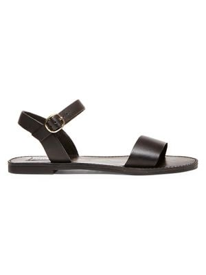 Donddi Leather Sandals by Steve Madden