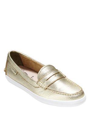 Pinch Weekender Metallic Leather Loafers 500081749152