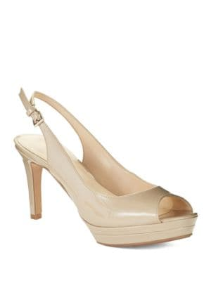 Able Platform Peep-Toe Pumps by Nine West