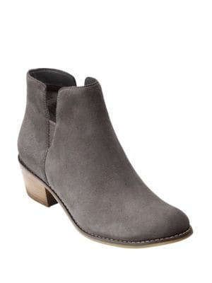 Abbot Suede Booties by Cole Haan