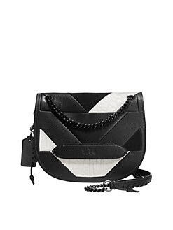 fd5fa9419 QUICK VIEW. COACH. Shadow Patchwork Leather Crossbody Bag