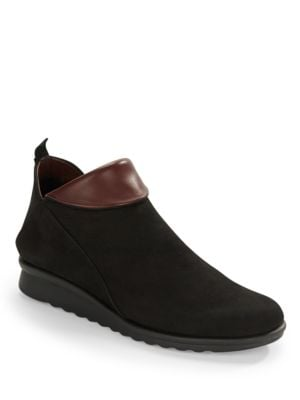 Pan Damme Leather Ankle Boots by The Flexx