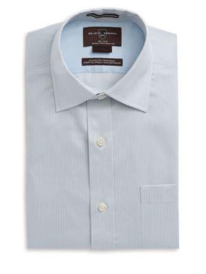 Stripe Cotton Dress Shirt...