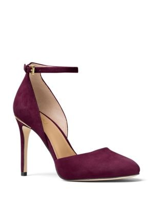 Georgia Suede Stiletto Pumps by MICHAEL MICHAEL KORS
