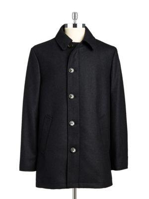 Wool-Rich Overcoat @...