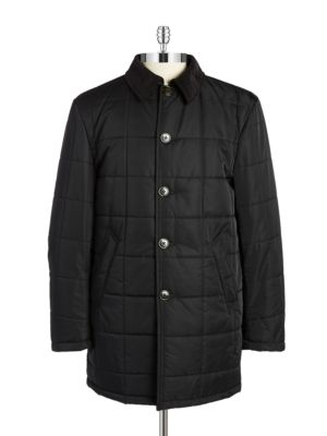 Quilted Corduroy Collar...