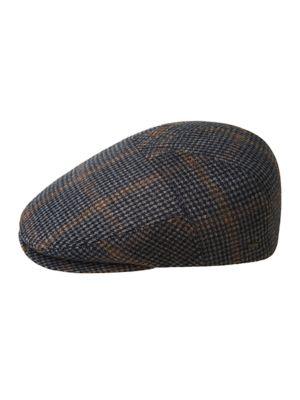 Image of Smit Brushed Wool Driving Cap