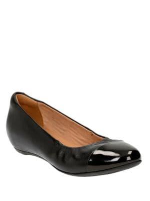 Alitay Susan Cap Toe Slip-Ons by Clarks