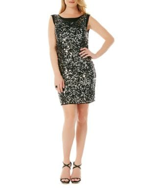 Sleeveless Cowl Back Dress by Laundry by Shelli Segal